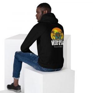 unisex premium hoodie black back 611c049cec7b0