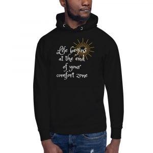 unisex premium hoodie black front 611c059b522e3