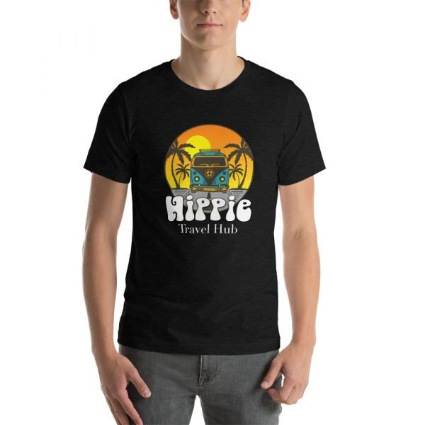 unisex staple t shirt black heather front 611c09372739e