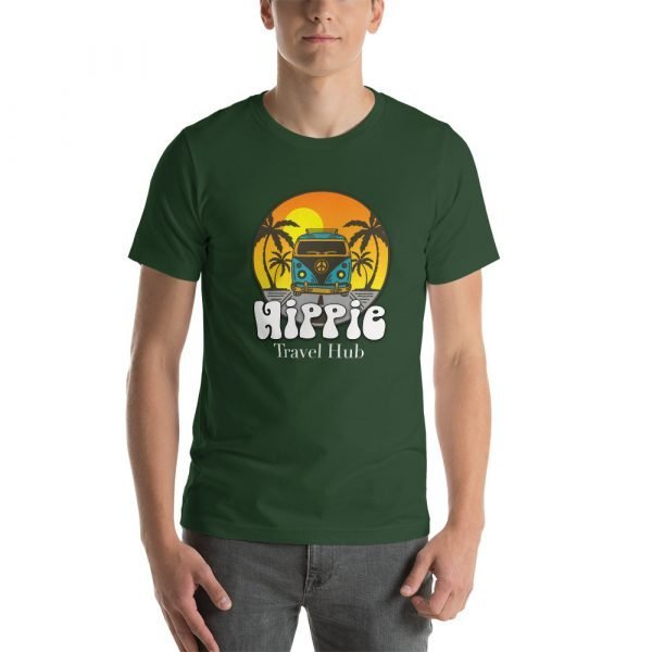 unisex staple t shirt forest front 611c093727668