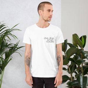 unisex staple t shirt white front 611c086aae642